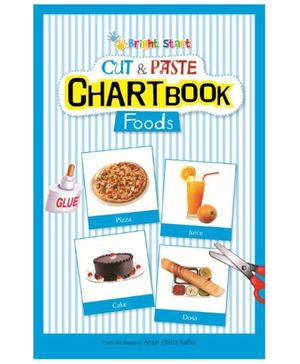 Brightstart Cut And Paste Chart Book - Food
