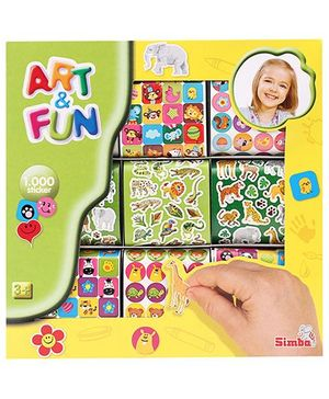 Art & Fun 1000 Stickers