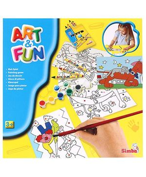 Art & Fun Paint By Colours Set