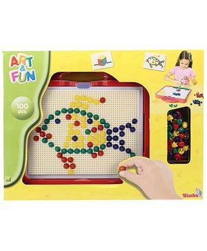 Art & Fun Mosaic Set In Case - 100 Pieces