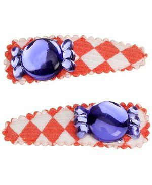 Kids Studioz Baby Clip With Diamond Design - Violet Diamond