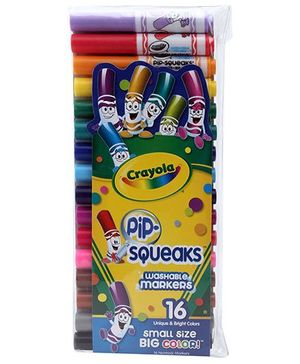 Crayola Pip Squeaks Washable Markers - 16 Colours