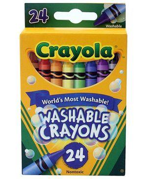 Crayola Washable Crayons - 24 Crayons