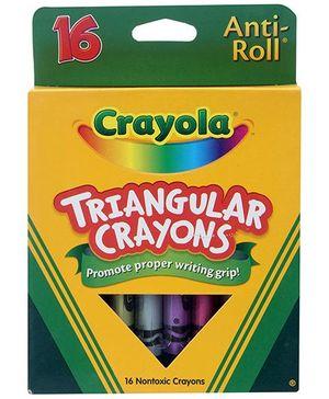 Crayola Triangular Crayons - 16 Crayons