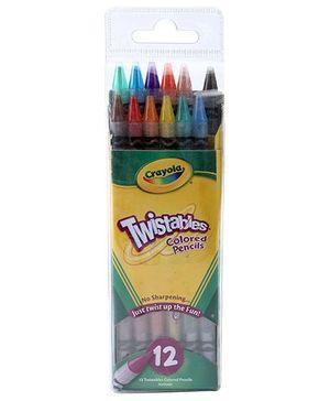 Crayola Twistables Colored Pencils - 12 Pencils
