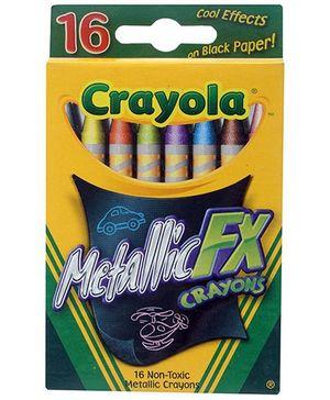 Crayola Metallic Crayons - 16 Colours