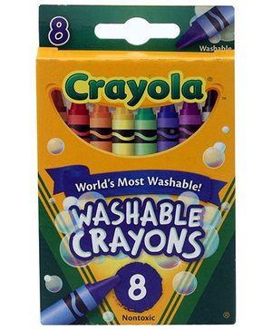 Crayola Washable Crayons - 8 Crayons
