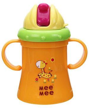 Mee Mee Active Straw Feeding Mug - 180 ml