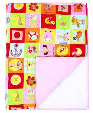 Mee Mee Baby Changing Mat Multi Print - Set Of 3