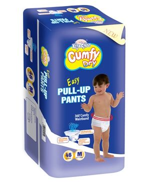 Xtra Care Cumfy Dry  Pull Up Pants Medium - 46 Pieces