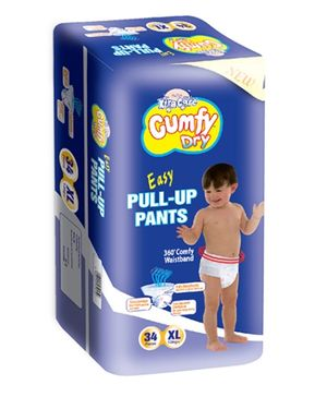 Xtra Care Cumfy Dry Pull Up Pants Extra Large - 34 Pieces