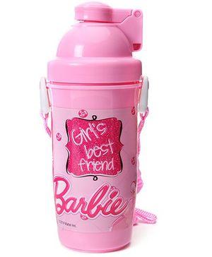 Barbie Eco Push Button Bottle - 750 ml
