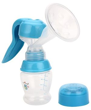 1st Step Manual Breast Pump - Blue