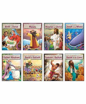 Macaw Bible Story Books Set of 8 - English