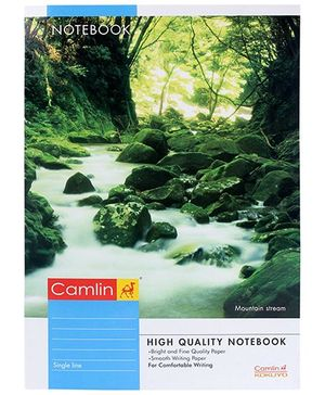 Camlin Single Line Notebook - 140 pages