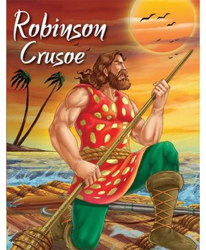 Pegasus Story Book Robinson Crusoe - English