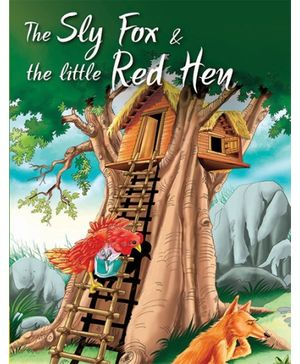 Pegasus Story Book The Sly Fox And The Little Red Hen - English
