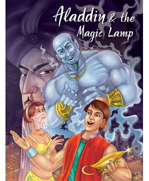 Pegasus Story Book Aladdin And The Magic Lamp - English