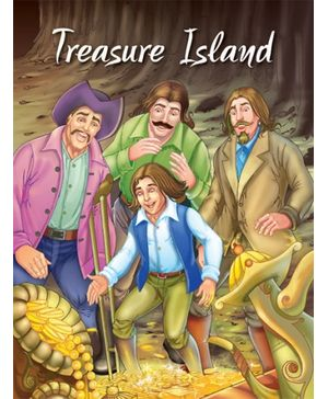 Pegasus Story Book Treasure Island - English