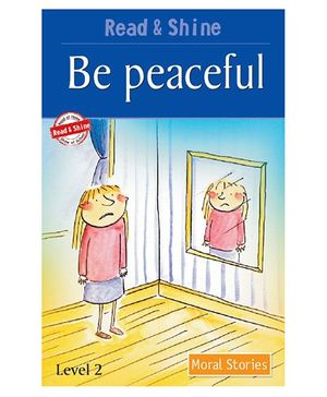 Pegasus Moral Story Book Be Peaceful - English
