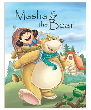 Pegasus Story Book Masha And The Bear - English