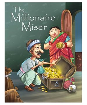 Pegasus Story Book The Millionaire Miser - English