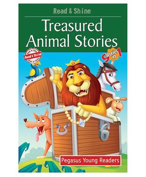 Treasured Animal Stories 7 Sticker In 1 - English