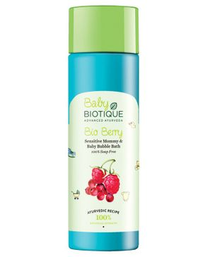 Biotique Bio Berry Sensitive Mommy And Baby Bubble Bath - 190 ml