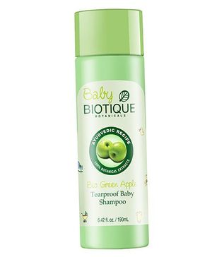 Biotique Bio Green Apple Tearproof Baby Shampoo - 190 ml