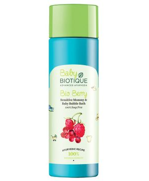 Biotique Bio Berry Sensitive Mommy And Baby Bubble Bath - 120ml