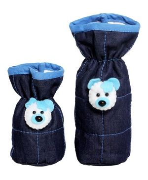 1 st Step Denim Bottle Cover - Set of 2