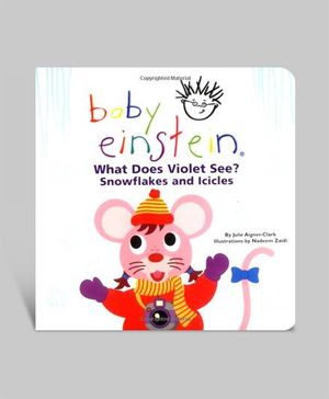 Baby Einstein -  What Does Violet See? Snowflakes