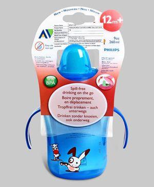 Blue Avent Spout Cup Deco 260 ml