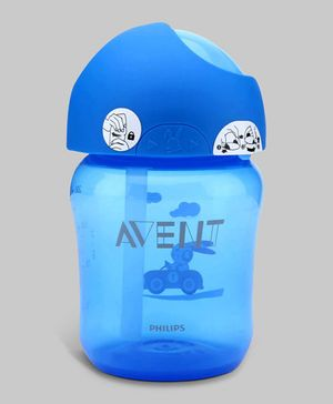 Blue Avent Straw Cup 260 ml