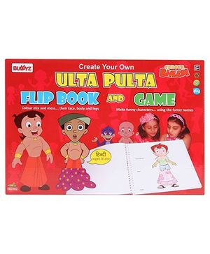 Chhota Bheem DIY Ulta Pulta Flip Book And Game