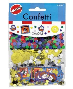 Wanna Party Confetti Value Pack Pirates Treasure