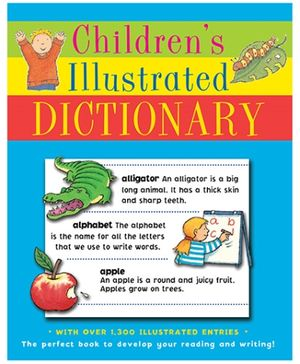 Parragon Children's Illustrated Dictionary - English