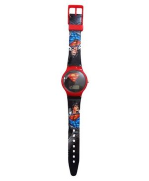 Superman LCD Watch
