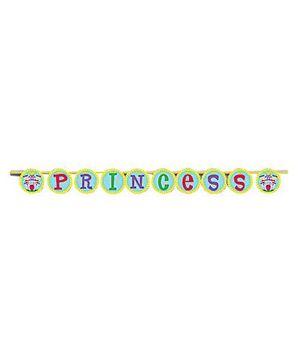 Princess Banner - Pink