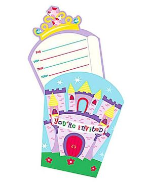 Castles & Princesses Themed Invites