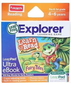 Leap Frog Ultra eBook Learn To Read Collection - Fairy Tales