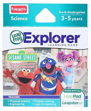 Leap Frog Explorer Learning Game - 123 Sesame Street