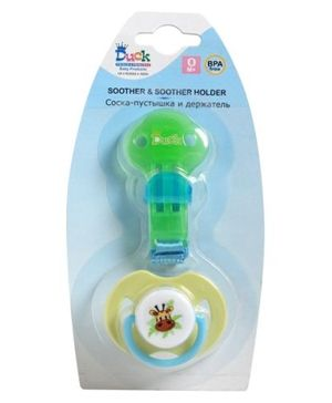 Duck - Soother & Soother Holder