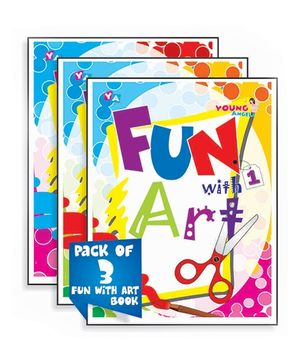 Young Angels Fun With Art Book English - Set of 3