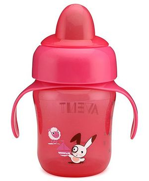 Avent Sipper with Handle 260 ml - Red