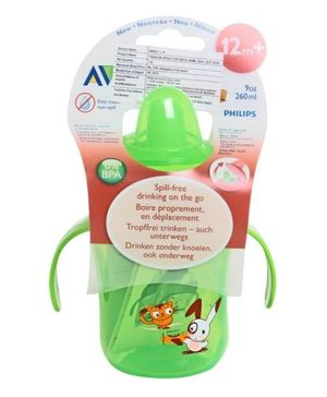 Avent Sipper with Handle 260 ml Green