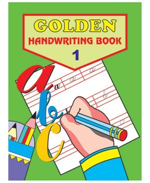 Indian Book Depot map house Golden English Handwriting 1 - English
