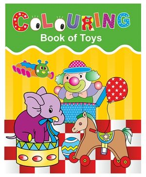 Indian Book Depot map house Coloring Book Of Toys - English