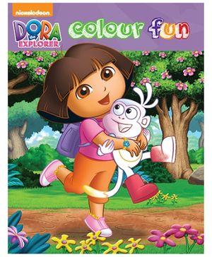 Parragon Coloring Book Dora The Explorer Color Fun - English