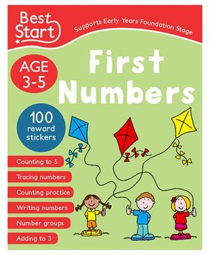 Parragon Best Star - First Numbers Book